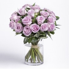 20 Roses - Purple Roses Bouquet